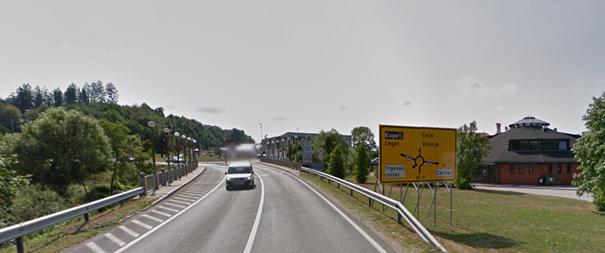 Dostop s strani Maribora